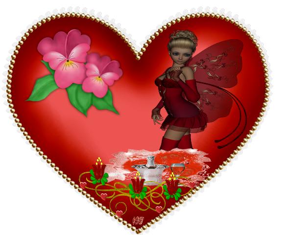 Crea st valentin - Coeur pour la saint valentin ...